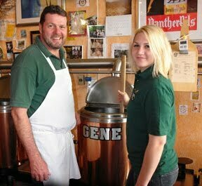 BrewBaker owner Dennis Midden with his daughter1 - SOMETHING'S BREWING