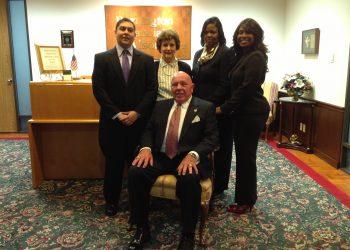 Bill Heath and staff - A BIG HIT