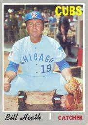 bill heath cubs card