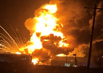 oil gas explosion