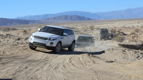 Land Rovers have extraordinary off-road capabilities on some of the roughest and toughest terrain in the world.