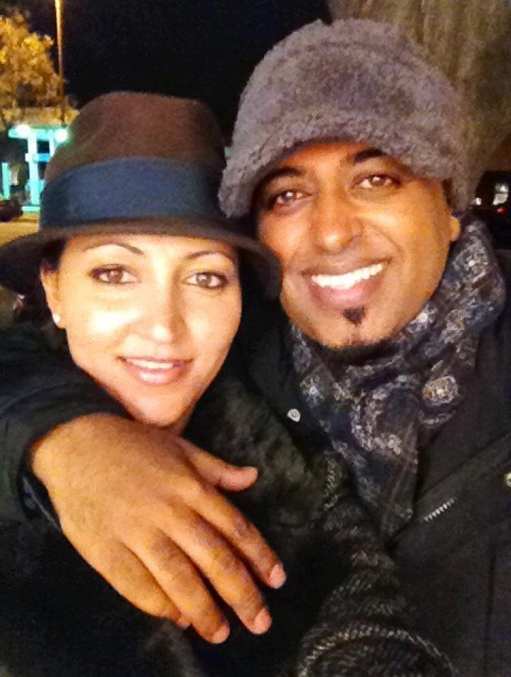 khalid and wife w hats