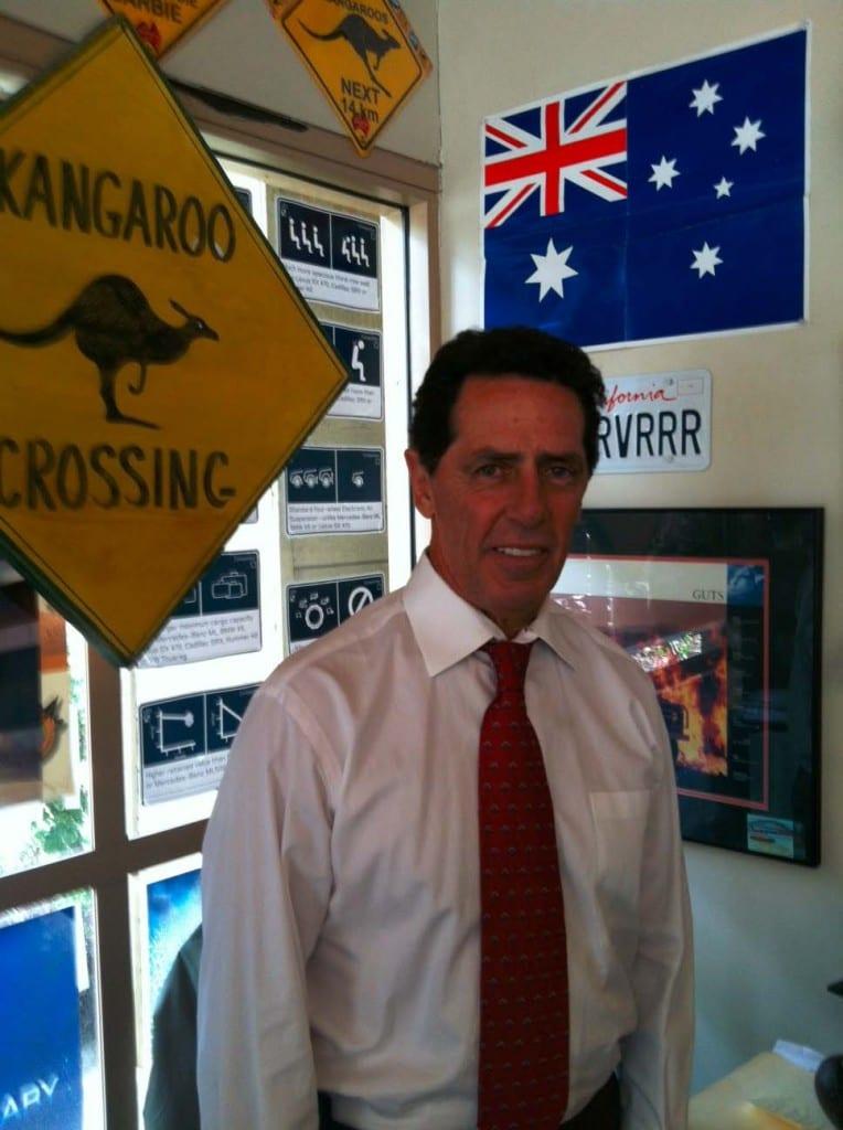 John Sanderson in office2