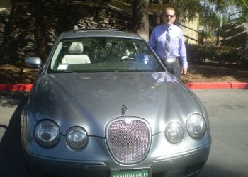 Steve K w his jag1 - THE CAT IS BACK