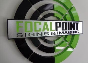 Focal Point Lobby Sign - FOCAL POINT