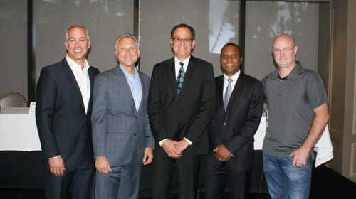 Richard Franzi and CEOs from his CEO Peer Group and Critical Mass for Business