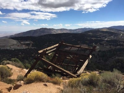 Big Bear's Gold Mountain, an old sealed mine overlooking Baldwin Lake, one of the breathtaking sites the Land Rover Anaheim Hills group relished on this spectacular Southern California day.
