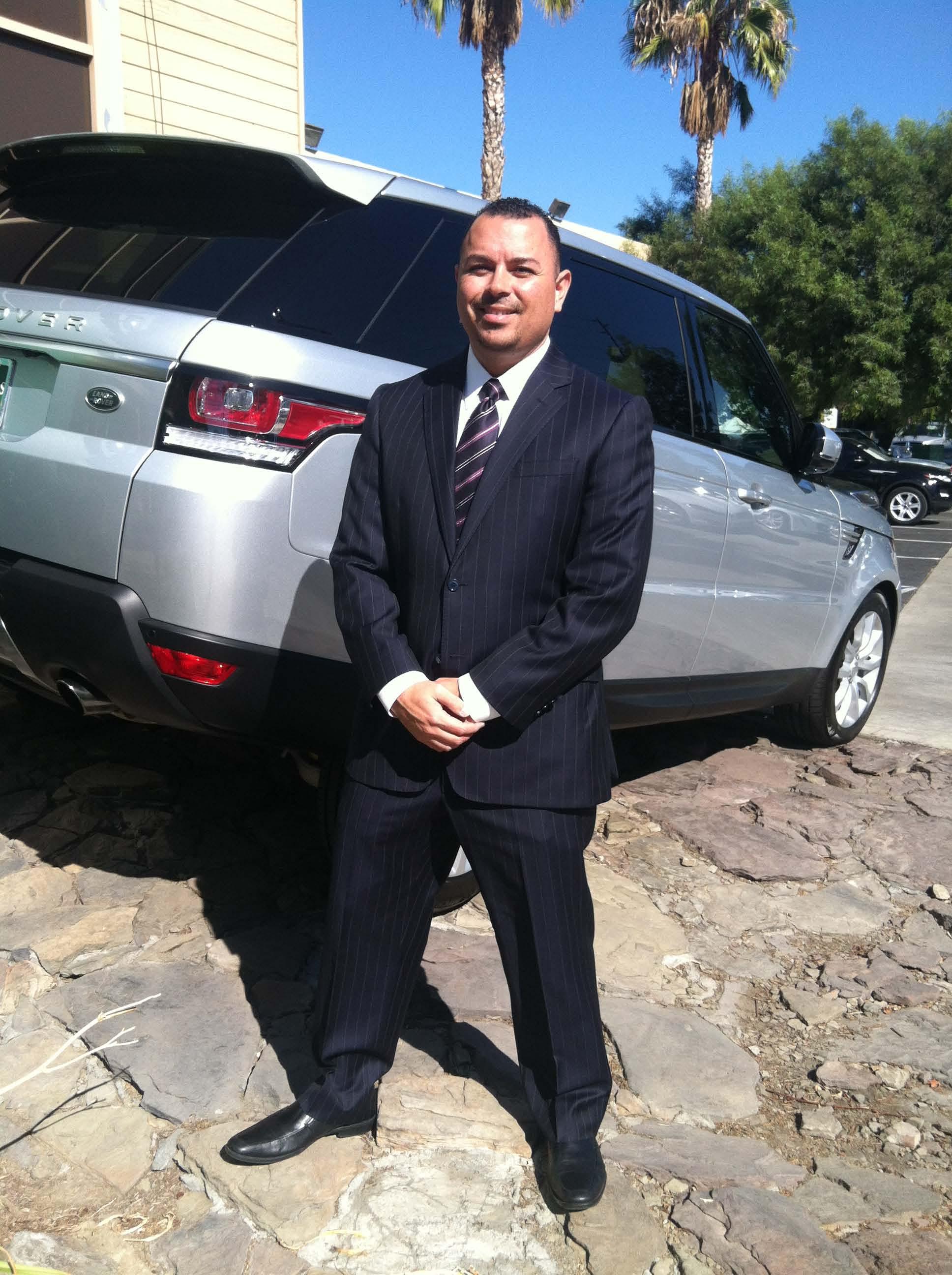 Jeff Assad, Finance Manager At Jaguar Land Rover Anaheim Hills, Captured  The Coveted Marque