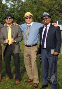 Jeff Assad (L), Greg Suzuki (middle) and Khalid Omar (R).