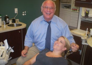 Dr Rich laugh w client best shot - GOLDEN TOUCH