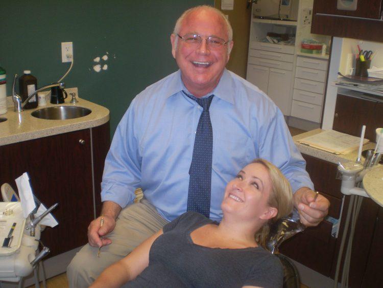 Dr Rich laugh w client best shot - GOLDEN TOUCH