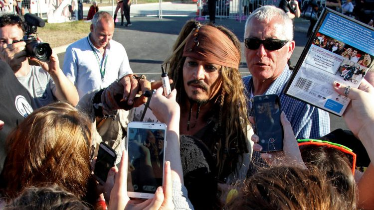 la 1477697453 snap photo - DISNEY RECEIVES HUGE GOVERNMENT GRANT TO MAKE A 'PIRATES OF THE CARIBBEAN' FILM OUTSIDE THE U.S.