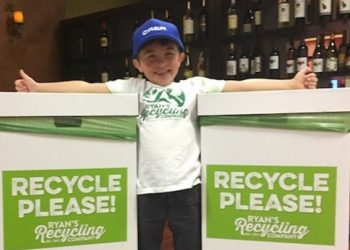 Ryan Hickman recycling - CALIFORNIA BOY, 7, SAVES $10K FOR COLLEGE AFTER STARTING RECYCLING BUSINESS