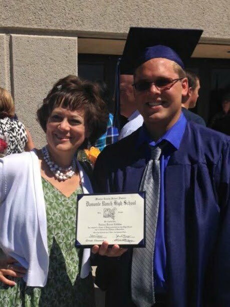 Bethany Valentine and son Zach - SECOND START