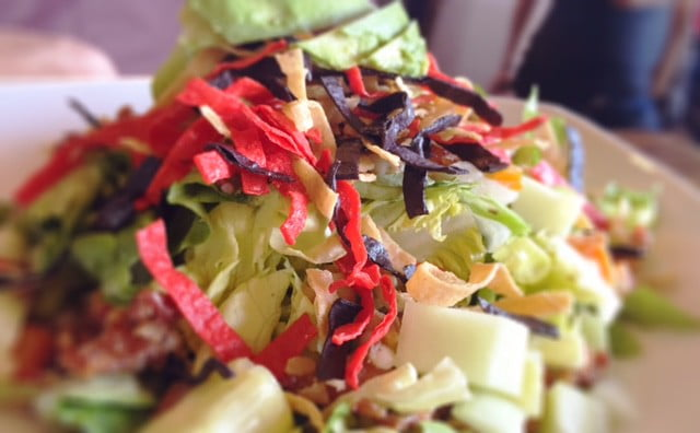 salad - RESTAURANT REVIEW: STACKED