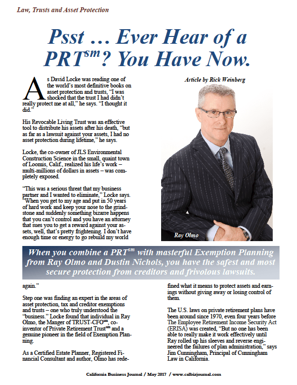 screener 1 - PSST ... EVER HEAR OF A PRT? YOU HAVE NOW.