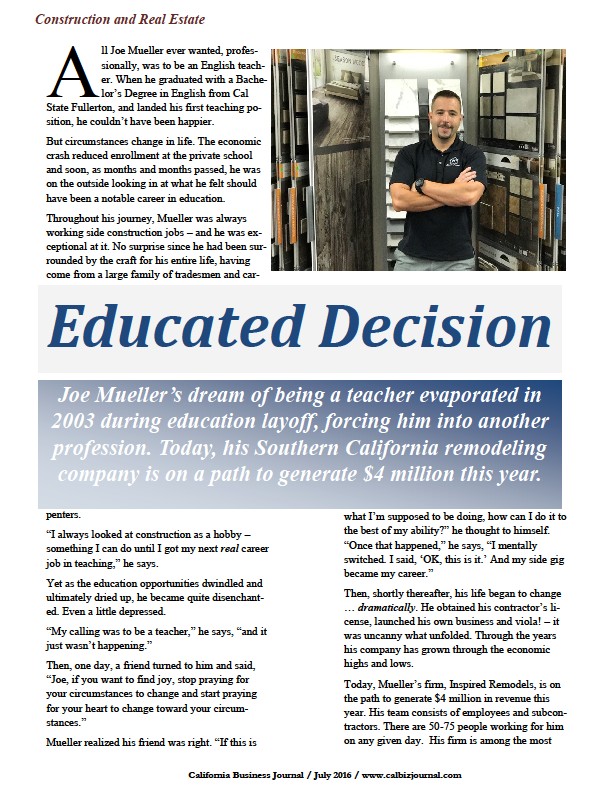 screener - EDUCATED DECISION