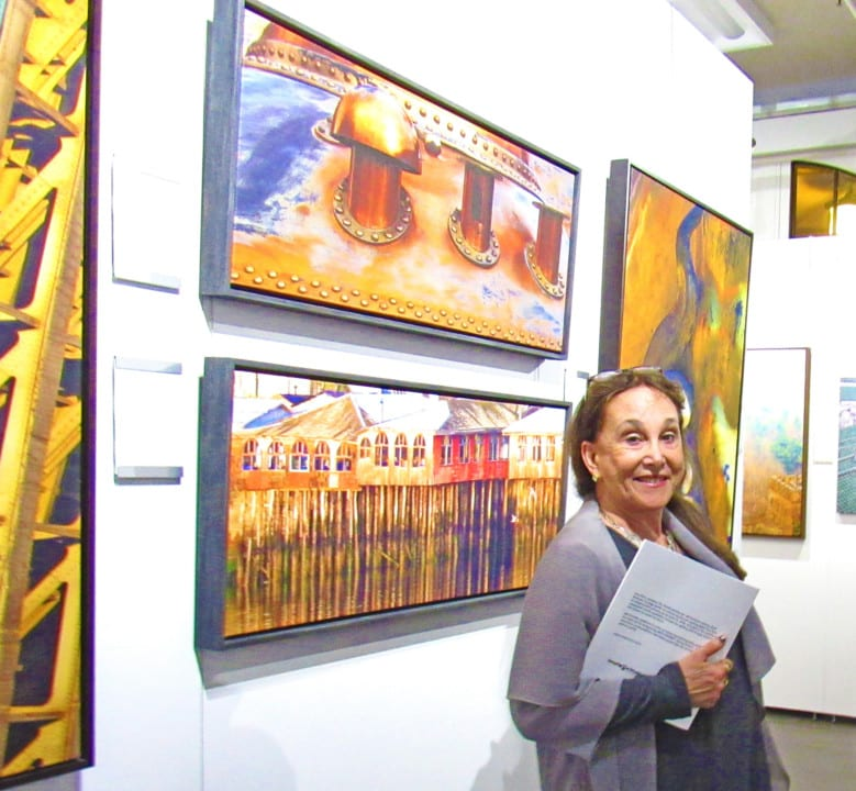 Lisa Ross and Her Collection At MKEnvisionGalleries - BACKYARD BEAUTY
