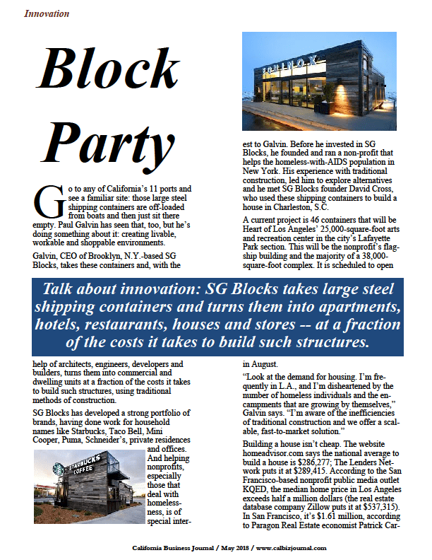 screen 5 - BLOCK PARTY