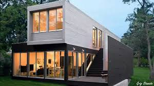 Another example of the extravagant lengths builders go through utilizing containers to build homes.