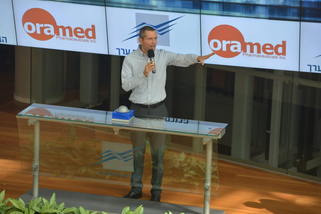 Oramed CEO Nadav Kidron