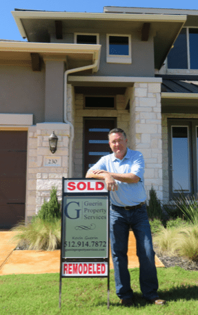 Entrepreneur Kevin Guerin is based in Texas, but 90 percent of his company's clients are Californians investing in residential real estate in Austin and San Antonio.