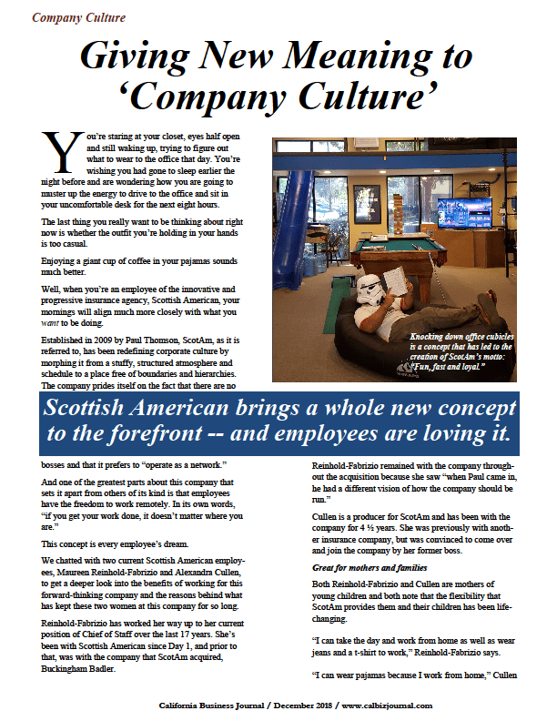 s1 4 - GIVING NEW MEANING TO 'COMPANY CULTURE'