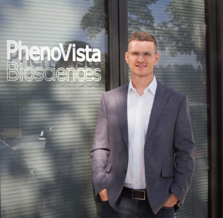 James G. Evans, Ph.D.,formed PhenoVista Biosciences to help accelerate the drug discovery process.