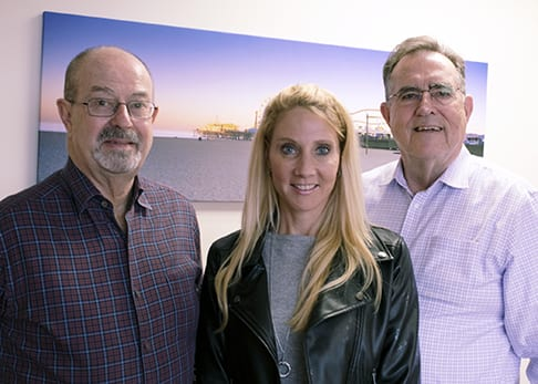 The Sierra Investment braintrust (L to R): David Wright, Terri Spath and Ken Sleeper