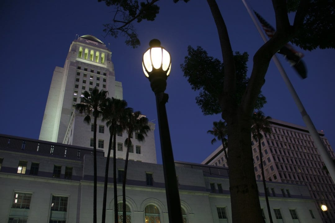 Los Angeles City Hall is saving thousands of dollars in energy costs, thanks to LEDtronics