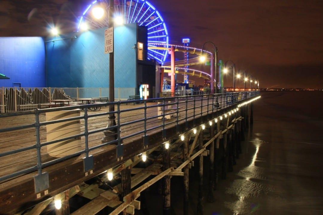 Santa Monica Pier attains 90 percent in energy savings, thanks to LEDtronics