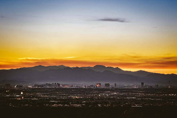 The Las Vegas sunset. Photo by Ryan Hafey / The Unsplash License