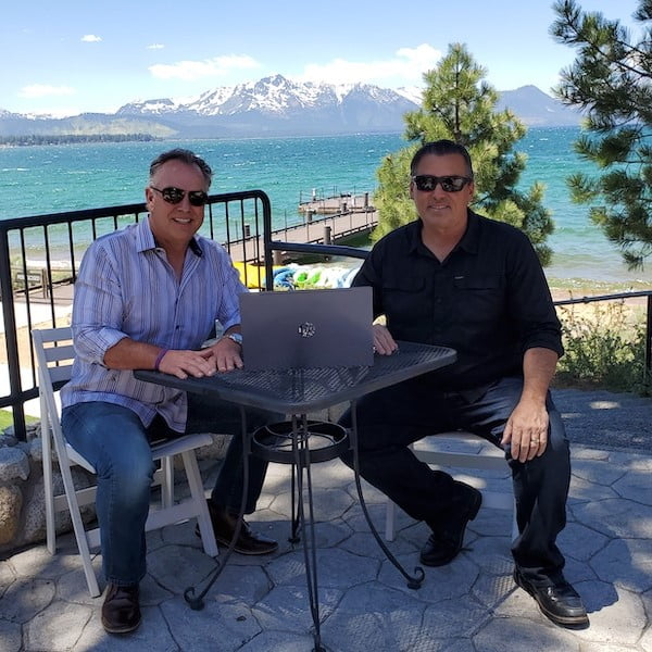 Founders Mike Hinsvark and Chris Defino of Virtual Financial