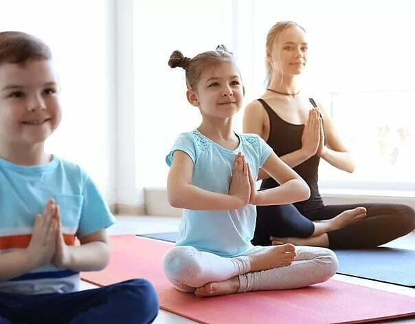 kids yoga pose use this - Rising Tide