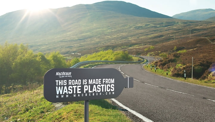 full plasticroad - Revolutionary Breakthrough: Plastic Destined for Landfill Transformed For Use in Road Mix