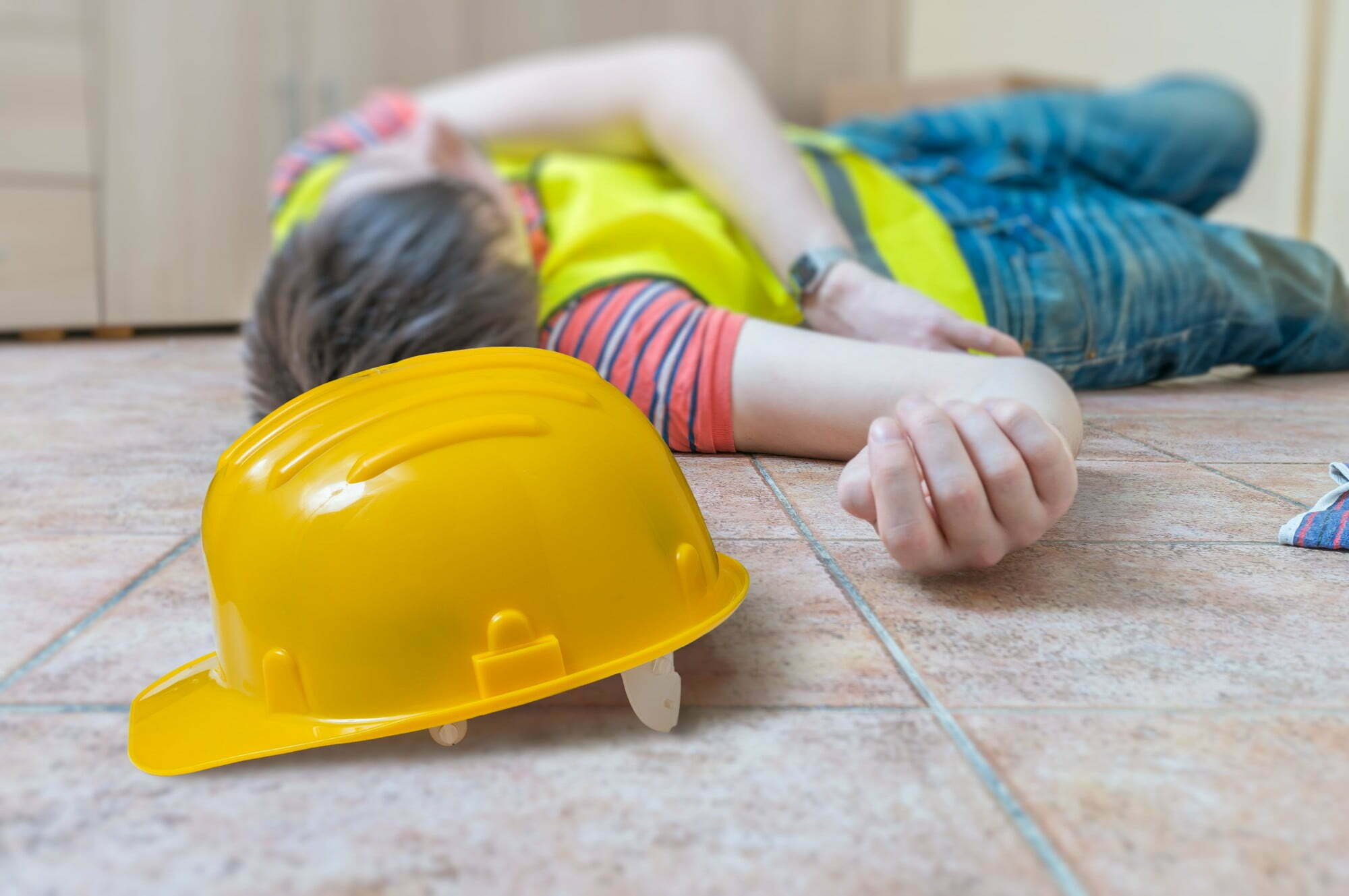 Injured on construction site