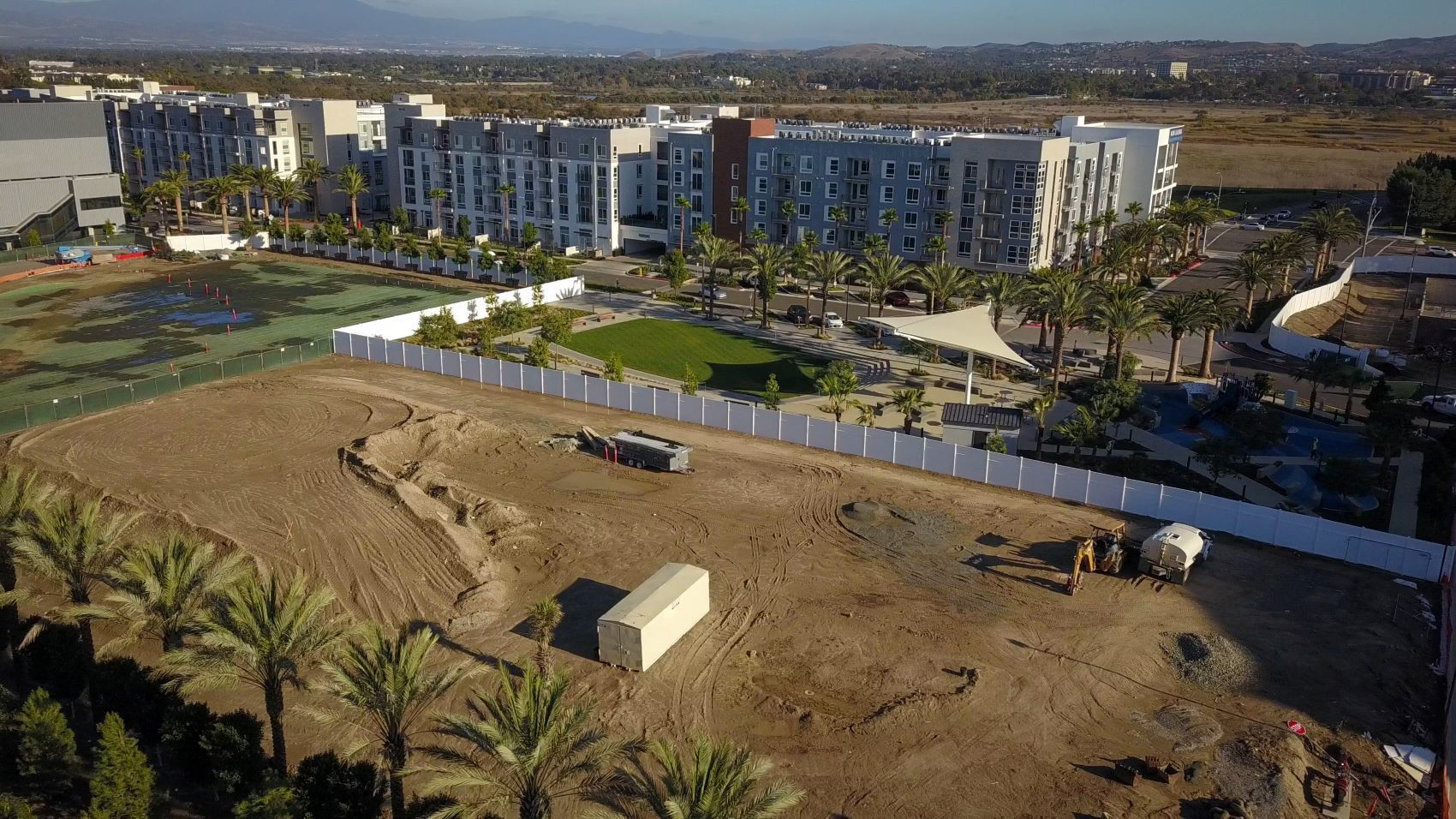 Uptown Newport Village Development in Newport Beach