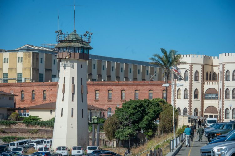 San Quentin State Prison Wednesday. (Jeremy Portje/ Marin Independent Journal)