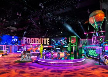 fortnite e3 experiential marketing trade show fgpg - Immersed in the Digital Realm