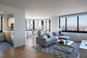 Grace Murphy tribeca tower nyc living room 1 2 - Corporate Housing: What is It and How It Stands to Benefit You