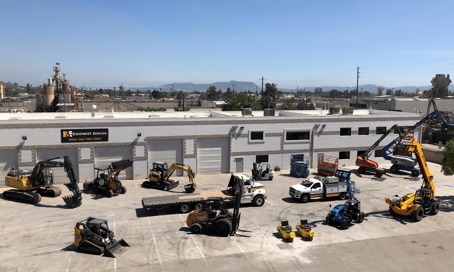 HEES Los Angeles - H&E Opens LA Branch