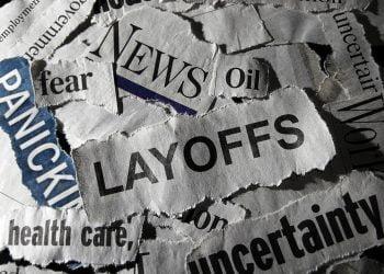 Layoffs news headline