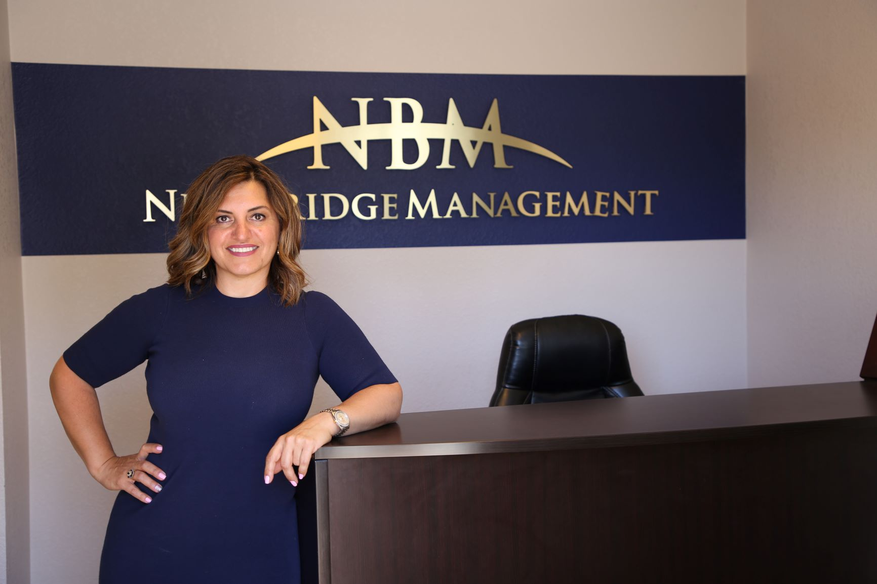 President and CEO of Turlock, California-based New Bridge Management (NBM) Adrian Harrell