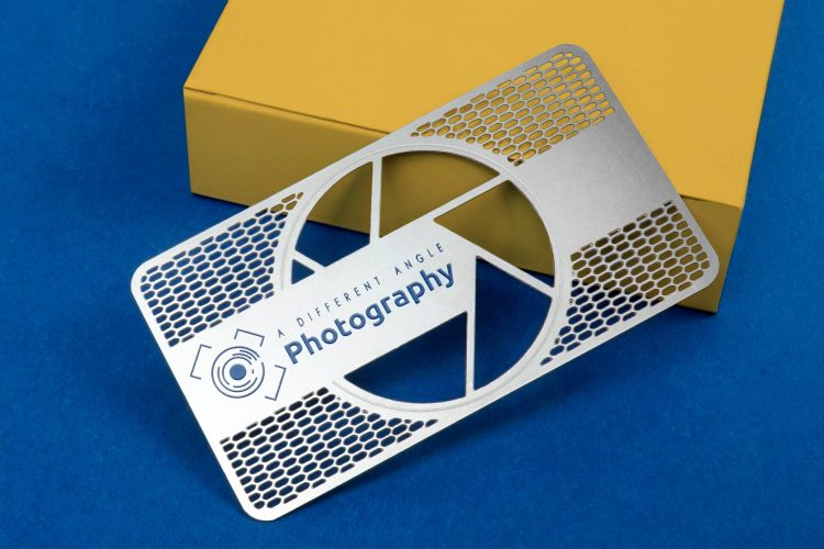 My Metal Business Card Photography Stainless Steel Card - If you think business cards are obsolete, think again