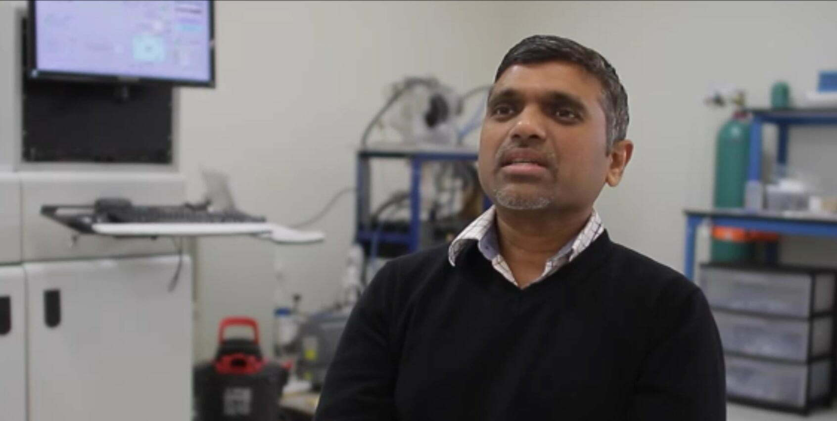 Nimbus Materials CEO Sridhar Kasichainula has developed the energy industry's first ultra-thin Thermoelectric Generator film.