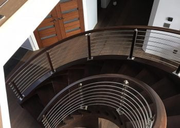 Martin S LJS Pic Circular Stairway in Steel - Architecture: Martin Stairways, Craftsmanship at its Finest