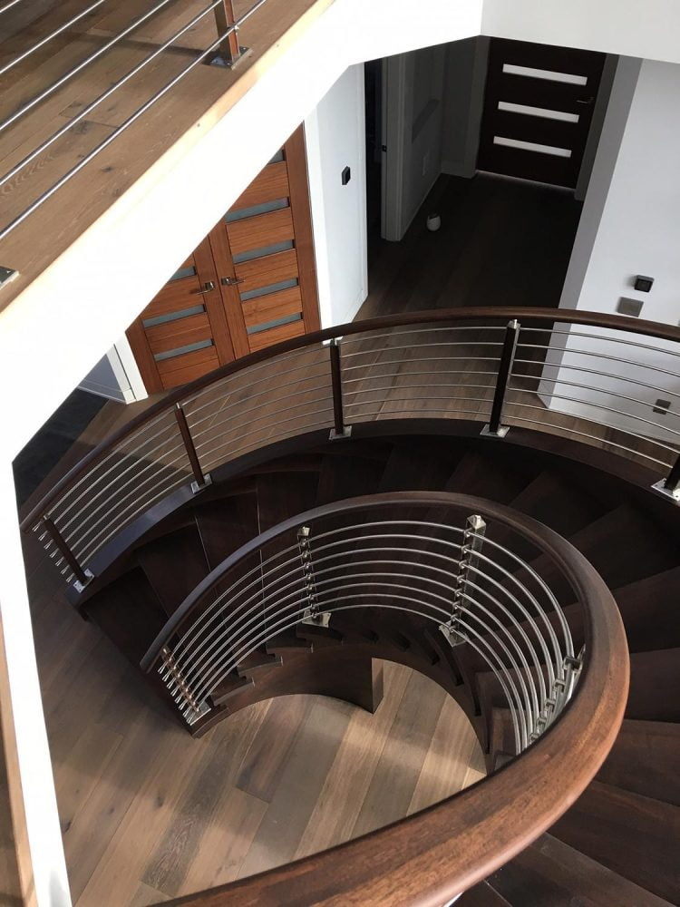 Martin S LJS Pic Circular Stairway in Steel - Architecture: Martin Stairways, Craftsmanship at its Finest