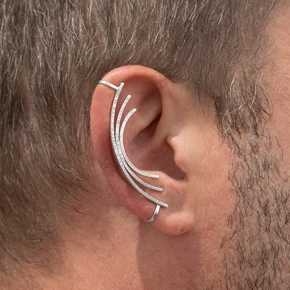 Men's Cuff Earrings: Making a Comeback - Men's Cuff Earrings: Making a Comeback
