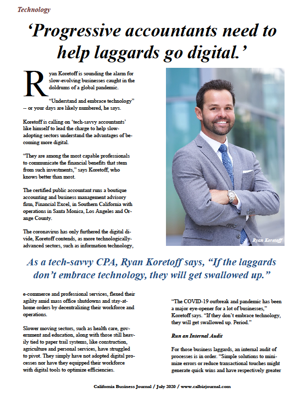 s1 11 - 'Progressive accountants needed to help laggards go digital.'