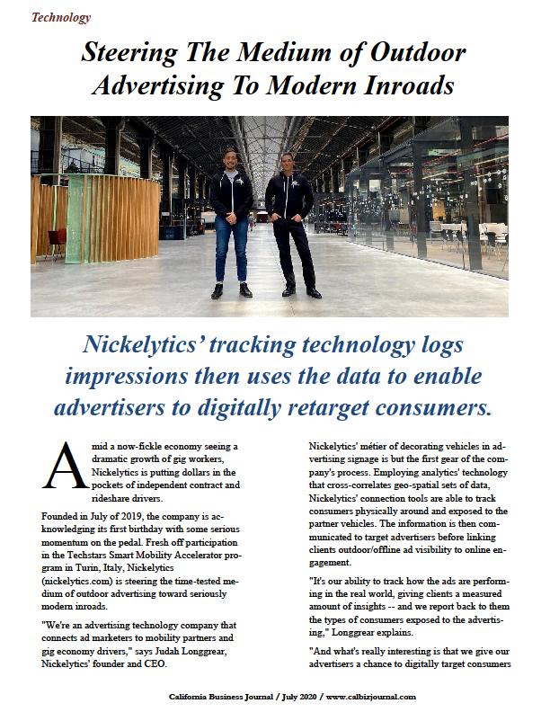 Nickelytics, CalBizJournal.com